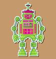 08 Cute robot vector image