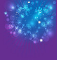 bubble explosion background vector image