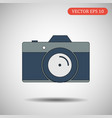 camera icon eps 10 vector image