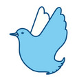 dove the bird of peace vector image vector image
