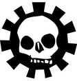 Gear skull vector | Price: 1 Credit (USD $1)