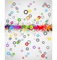 Paint splashes background vector image