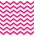 pink seamless zigzag pattern on white background vector image vector image