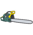 Power saw vector image vector image