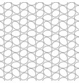 seamless geometric pattern many eggs nicely vector image vector image