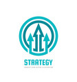 strategy - abstract concept vector image