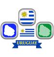 symbol of Uruguay vector image