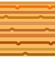Wavy line brown seamless pattern vector image