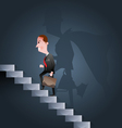 Stairway to success Business concept vector image