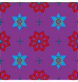 seamless pattern with colored shapes vector image