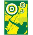 Archer design vector image