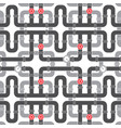 background pattern with pipe with valve ill vector image vector image