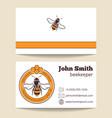 beekeeper business card template