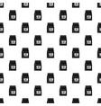 cat food bag pattern vector image vector image