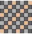 Design seamless diagonal checked pattern vector image vector image