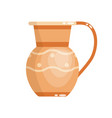 greek vase in ancient style as template vector image