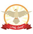 holy spirit faith hope image vector image
