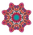 mandala ethnic round ornament design vector image vector image