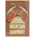 Mountain Climbing vector image