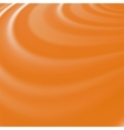 Orange Waves Smooth Swirl Background vector image vector image