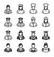 People Icons Occupation Icons vector image vector image