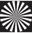 rays flat design vector image