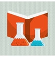 science book design vector image