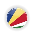 Seychelles icon circle vector image vector image