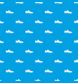 sneakers pattern seamless blue vector image vector image