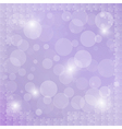 violet background with puzzle vector image vector image