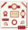 Web site design vector image
