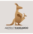 abstract animal vector image