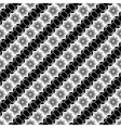 Design seamless monochrome diagonal pattern vector image