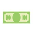 dollar sign money symbol cash emblem financial vector image vector image