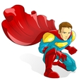 Good Superhero vector image vector image