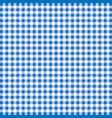 tablecloth fiber tartan fabric pattern line blue vector image vector image