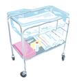 bassinet design vector image