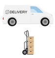 Delivery icon vector image