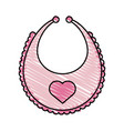 apron baby vector image
