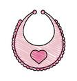 apron baby vector image