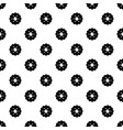 biscuits pattern seamless vector image vector image
