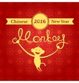 Chinese New Year of the Monkey vector image vector image