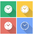 clock - icon vector image vector image