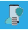 Cloud computing technology vector image vector image