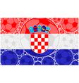 Croatia soccer balls vector image vector image