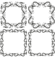 decorative frames and borders vector image vector image