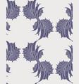floral iznik seamless pattern design vector image vector image