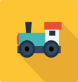 Little engine simple flat vector image