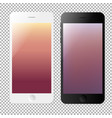 phone template set vector image