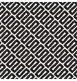 Seamless Diagonal Black and White Wavy vector image vector image